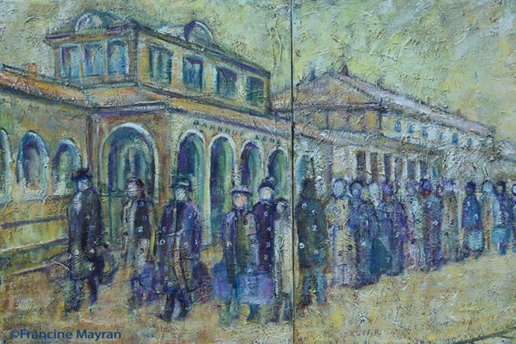 "<span style='color:#0f69a0'>Ausstellung ""Die Shoah und ihr Schatten""</span><br> Exposition «La Shoah et son ombre»"
